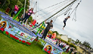 Bungee trampoline hire Derry Londonderry