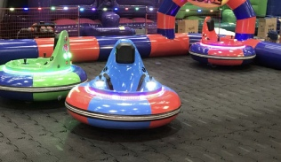 Spinning bumper car hire Derry Londonderry